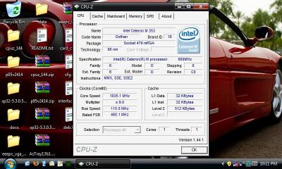 eeePC overclocked to 1Ghz+