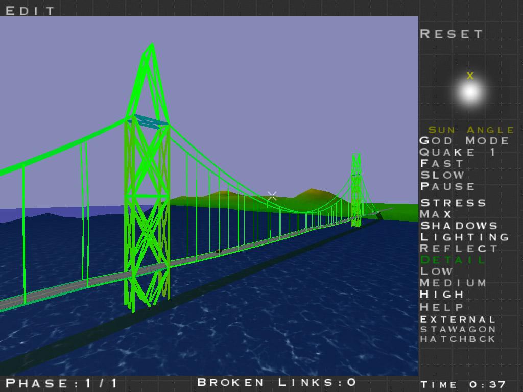 Physics Games Bridge Builder