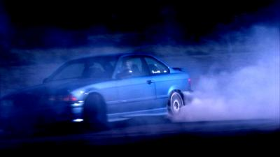 Estoril E36 M3 Donuts Burnout