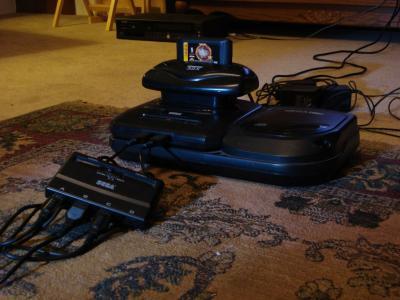 Sega Genesis 32x Multitap NBA_Jam